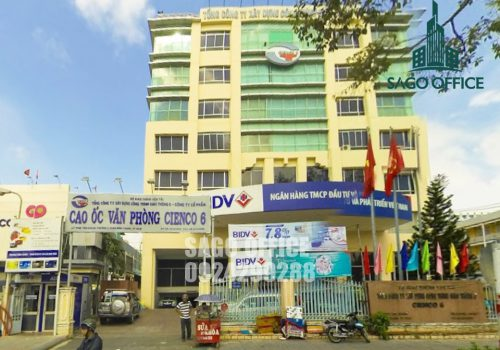 Tòa nhà Cienco 6 Building cho thuê văn phòng Quận Bình Thạnh